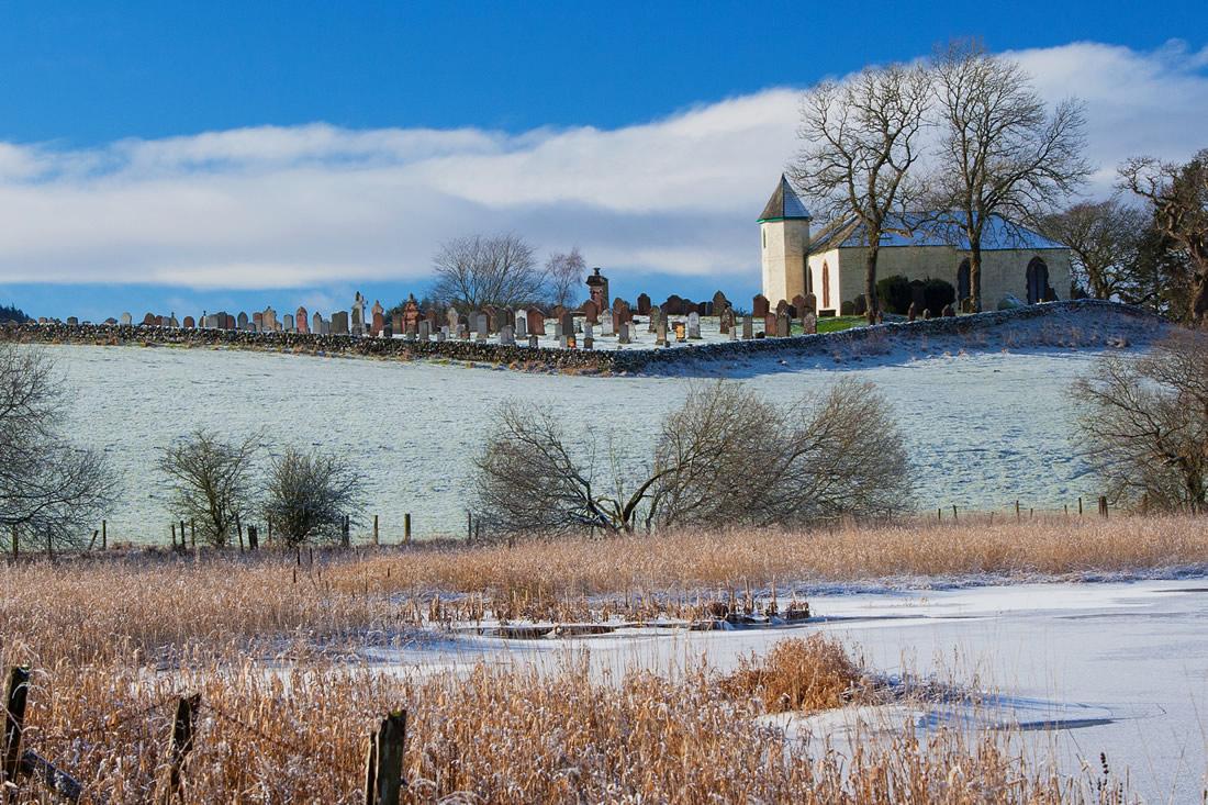 Winter Scenes - Balmaghie Kirk
